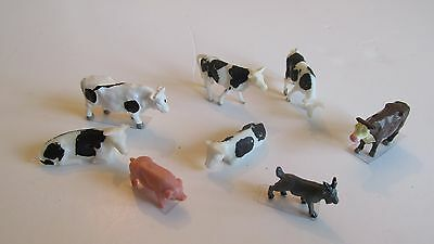 Lot 104 - 00/Ho scale animals as scan - used , good condition.