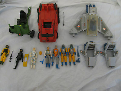 Action Force Vintage 1980s Action Figures And Vehicles