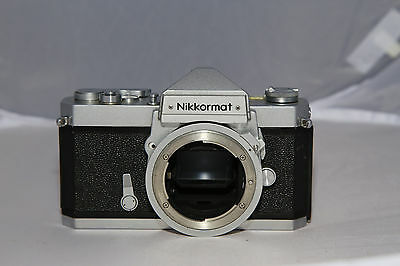 Nikon Nikkormat FT 35mm Film Camera - Tested & Working