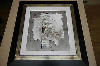 Kathy Sheldon - Michigan Artist - Mixed Media Relief Collage Framed Original