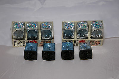 Lot of 10 GE Flash Cubes - 40 Exposures Total - Never Used!