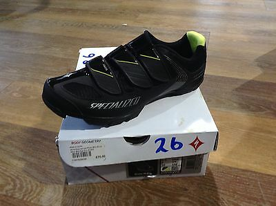 2014 Specialized Riata Mtb Shoes Women Black / Grn Size UK 7 Cycle Bike Bicycle