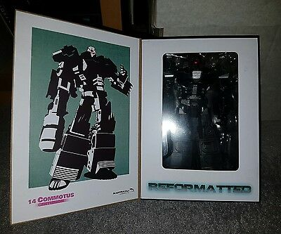 Transformers R14 Commotus. Reformatted. Mastermind creations. MMC