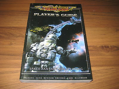 Fading Suns Revised Players Guide Softcover FASA 2014 New Neu