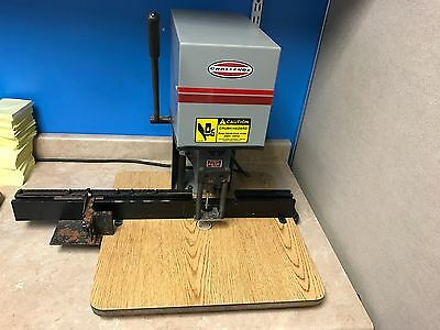 Challenge Lincoln Single Spindle Tabletop Paper Drill