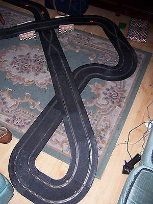Vintage Scalextric track incl Flyovers, crossovers, chicane (30 pcs.)