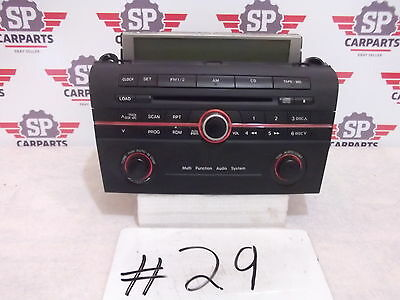 Mazda 3 2004 2005 2006 2007 2008 2009 Radio cd player with screen BN8F 66 9R0A