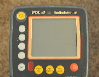 Radiodetection PDL-4 Cable Pipe Utility Locator System PDL 4