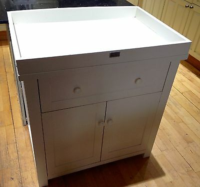 Baby Changing Table Unit Nostalgia Silver Cross