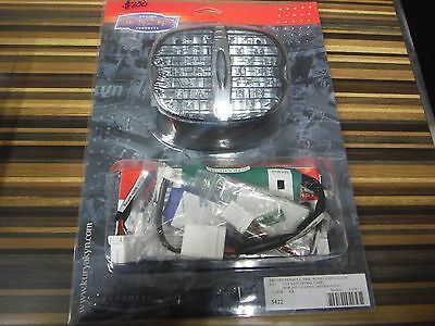 Kuryakyn Panacea Smoked Tail Light Deluxe Harley Touring Softail Dyna XL FXD