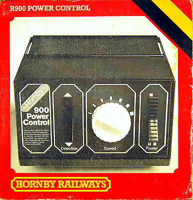 Hornby R900 Power Controller In Good Working Order With Original Box & Sleeve