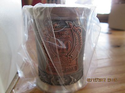 Harley Davidson 90th anniversary edition shot glass limited #2517/5000