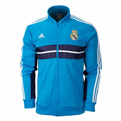Real Madrid Adidas Mens Anthem Jacket / Tracksuit Top Sizes S M L Xl Rrp £50