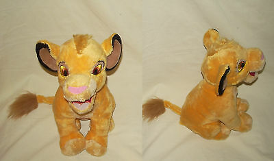 Peluche Plush Simba Roi Lion King Disney Disneyland Resort Paris 30 Cm Etat Neuf