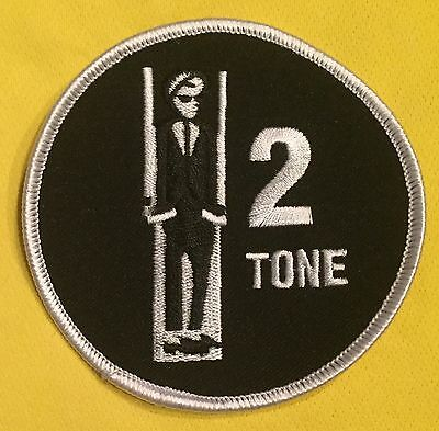 2 Tone Embroidered Sew On Patch