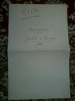 Copy of WW1 War Diary of French 76 Brig. 38th Div.action at Malmaison 23/10/1917