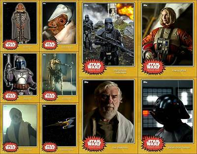 Topps Star Wars Card Trader Limited 100cc Gold Variants Rogue One++ [10 for $10]