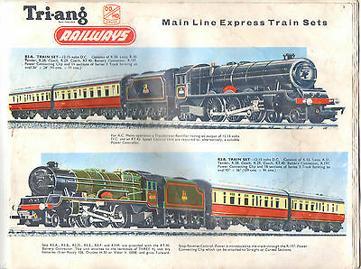 Triang Rovex Catalogue Minus Outer Cover - In Vgc Sold As Seen To Highest Bidder