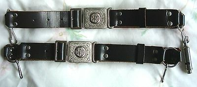 Vintage Traditional Girl Guide Belts of Fine Quality