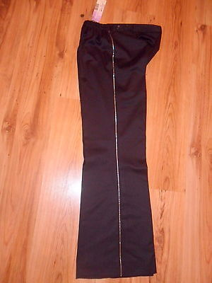 BNWT �� Next ��Size 10 Evening Maternity Trousers Smart  Black Stretchy NEW 38EU