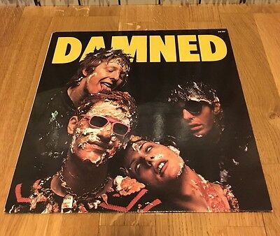 The Damned Damned Damned LP France 1977 Stiff Records Sex Pistols Clash Sham 69