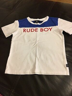 Boys SKA T-shirt Age 6-7 Years Next Day Delivery