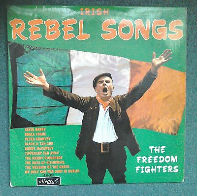 The Freedom Fighters, Irish Rebel Songs, Allegro ALL 859 lp