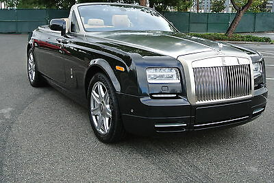2013 Rolls-Royce Phantom DHC tunning, loaded with options, this is MUST SEE! Window sticker, books!