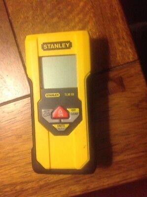 STANLEY TLM99 30m/100ft Laser Digital Distance Tape Measure TLM 99