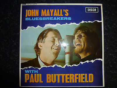 John Mayall's Bluesbreakers with Paul Butterfield (Decca DFE-R 8673) EP EX