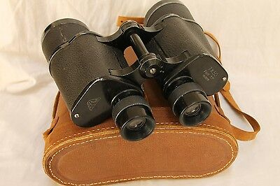 vintage  CROWN  binocular 7x50 field 7.1 degree  WWII