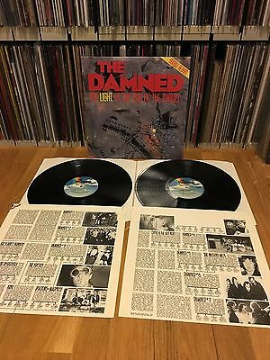 The Damned Light At End Of Tunnel 2x LP UK87 EX OIS LTD Numbered Buzzcocks Clash