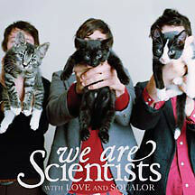 We Are Scientists - With Love And Suqalor - Vinyl LP & Stickers