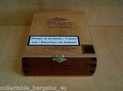 Cigar Box from Dominican Rep. for crafts jewellery trinket boxes 793