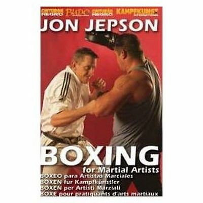 USED Boxing for martial artists dvd John Jepson   JEPSON