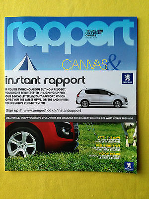 Peugeot owners magazine Rapport Summer 2009 3008 MINT RARE 407 3008