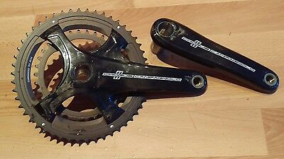 Latest style Campagnolo Chorus 11spd carbon fibre 172.5mm compact chainset