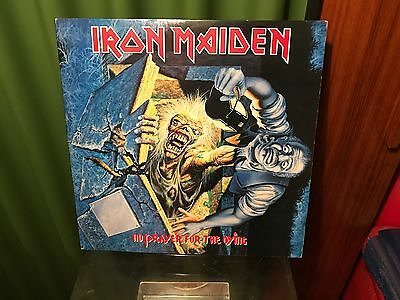 "Lp Iron Maiden ""no prayer for the dyinc"" Colored Vinyl Epic 1990"