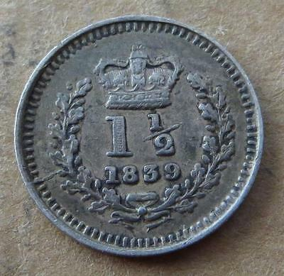Great Britain 1 1/2d 1839 . MD-2011