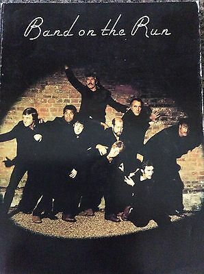 Paul McCartney Band On The Run Song Book Tab Wings The Beatles