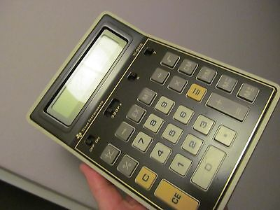 Vintage Texas Instruments Calculator Ti-5112 Working