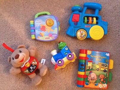 Babies Educational Pre School/Toddlers Toy Bundle Fisher Price, VTech, Leapfrog