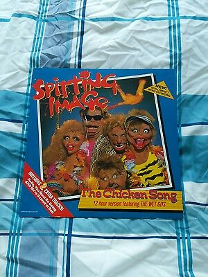 Spitting Image - The Chicken Song 12 inch single