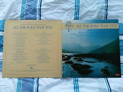 All the Folk that fits Double LP Bothy Band / Planxty / Dubliners / Connolly etc