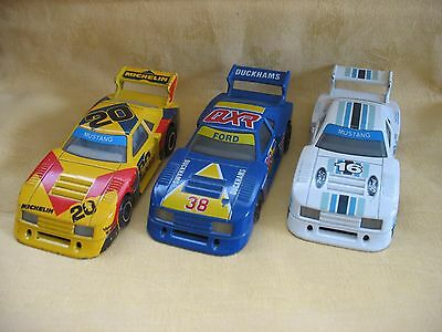 Matchbox Specials Ford Mustang American Model Race Cars x 3 1:43 Die Cast