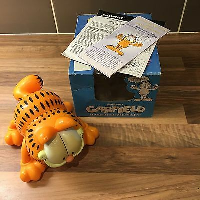 Garfield Vibrating Hand Held Massager - Pollenex - Vintage - Boxed