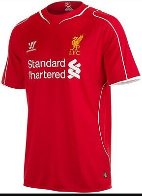 Brand New, Unopened Liverpool FC Home Shirt 14/15 Season.  Size L