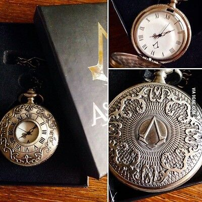 Assassins Creed Syndicate Pocket Watch Promo Collectors Item