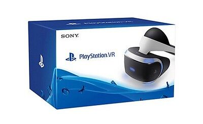 Brand New In Box Sony PlayStation VR Virtual Reality PS4 PSVR PS VR Headset BNIB