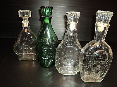Dominion Glass Retirement Bottle Decanters